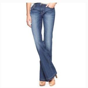 GAP Long and Lean Size 10 Long Wide Leg Jeans